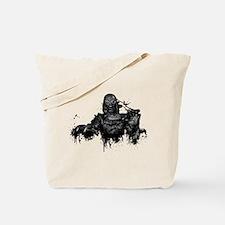 Graffiti'd Pop Culture Tote Bag