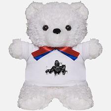 Graffiti'd Pop Culture Teddy Bear