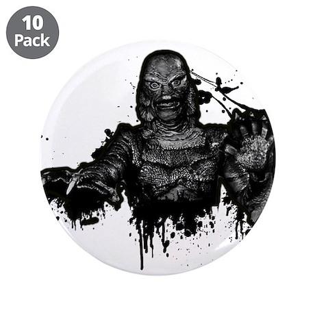 """Graffiti'd Pop Culture 3.5"""" Button (10 pack)"""