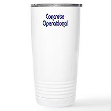 Concrete Operational (blue) Travel Mug