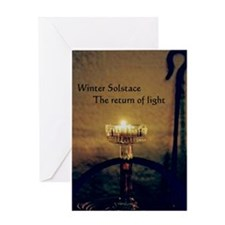 Winter Solstice - Greeting Card