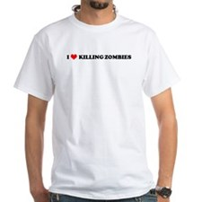 I Love Killing Zombies Shirt