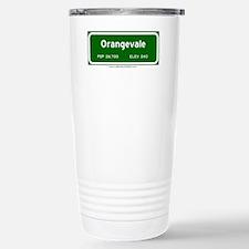 Orangevale Stainless Steel Travel Mug