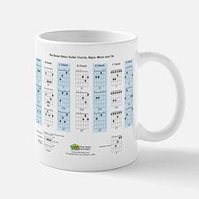Basic Guitar Chords Mug