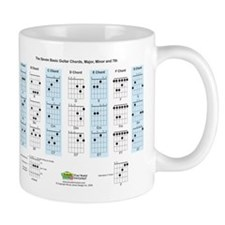 Basic Guitar Chords Mug