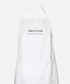 technobabble BBQ Apron