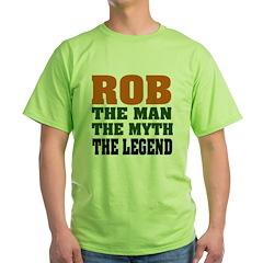 Rob the Legend Green T-Shirt