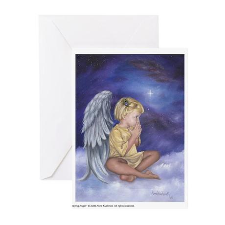 Praying Angel Greeting Cards (Pk of 10)