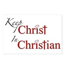 Keep Christ Postcards (Package of 8)