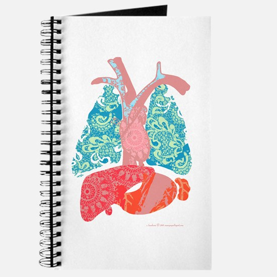 """""""Insides Out"""" Pretty Anatomy Journal"""