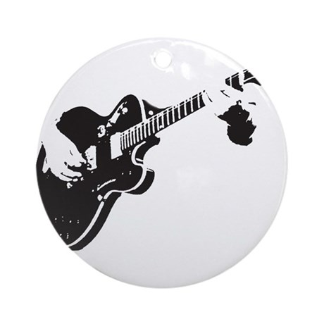 Guitar Ornament (Round)