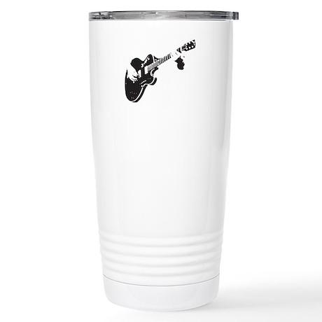 Guitar Stainless Steel Travel Mug