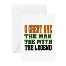 O Great One Legend Greeting Cards (Pk of 20)