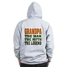 Grandpa - The Legend Zip Hoodie