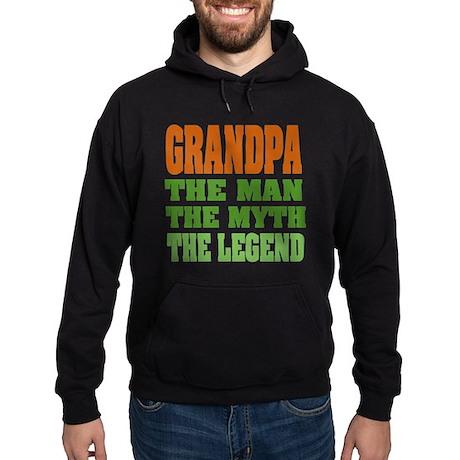 Grandpa - The Legend Hoodie (dark)