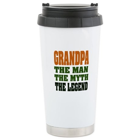 Grandpa - The Legend Stainless Steel Travel Mug