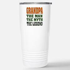 Grandpa - The Legend Stainless Steel Travel Mug