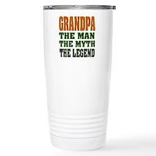 Grandpa - The Legend Travel Coffee Mug