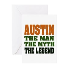 AUSTIN - the legend Greeting Cards (Pk of 20)