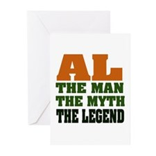 AL - The Legend Greeting Cards (Pk of 20)