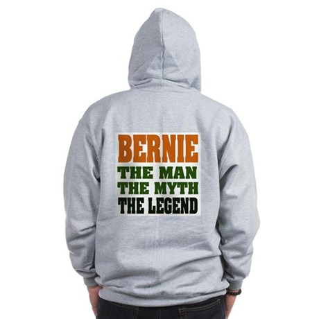 BERNIE - The Legend Zip Hoodie
