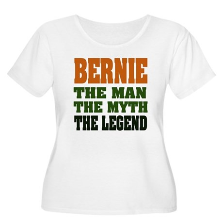 BERNIE - The Legend Women's Plus Size Scoop Neck T