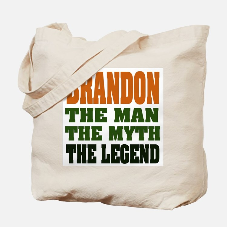 BRANDON - the legend Tote Bag
