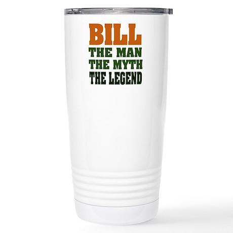 BILL - The Legend Stainless Steel Travel Mug