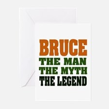 BRUCE - The Legend Greeting Cards (Pk of 20)