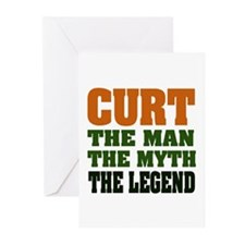 CURT - The Legend Greeting Cards (Pk of 20)