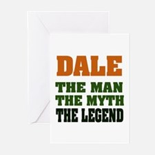DALE - The Legend Greeting Cards (Pk of 20)