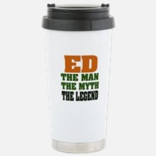 ED - The Legend Stainless Steel Travel Mug