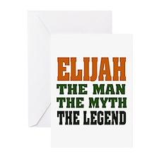ELIJAH -the legend Greeting Cards (Pk of 20)