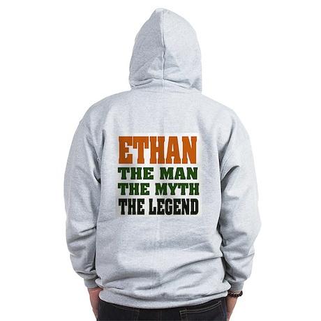 ETHAN - the legend! Zip Hoodie