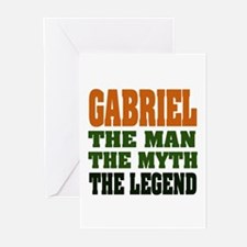 GABRIEL - the legend! Greeting Cards (Pk of 20)
