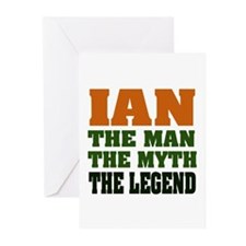 Ian the Legend Greeting Cards (Pk of 20)