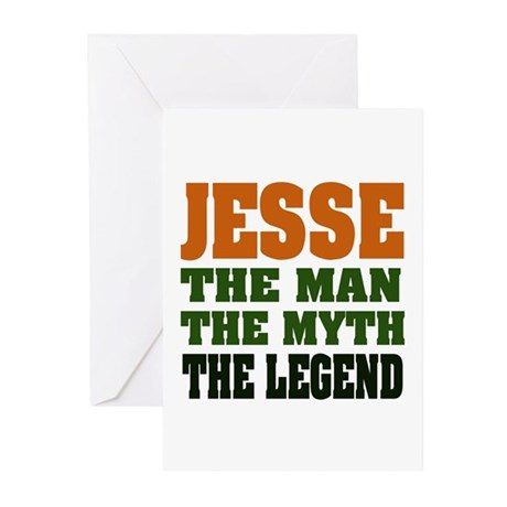 JESSE - The Legend Greeting Cards (Pk of 20)