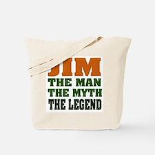 JIM - The Legend Tote Bag