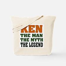 KEN - The Legend Tote Bag