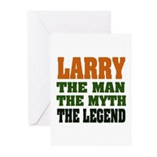 LARRY - The Legend Greeting Cards (Pk of 20)