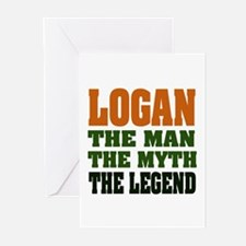 LOGAN - the legend! Greeting Cards (Pk of 20)