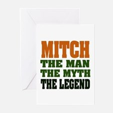 MITCH -the legend! Greeting Cards (Pk of 20)