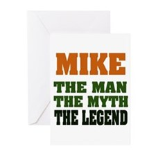 MIKE - The Lengend Greeting Cards (Pk of 20)