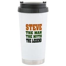 STEVE - The Legend Travel Coffee Mug