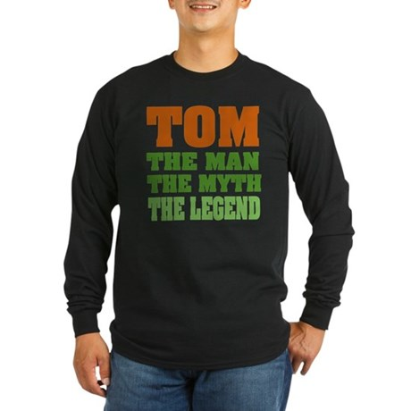 TOM - The Legend Long Sleeve Dark T-Shirt