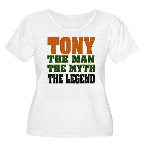 TONY - The Legend Women's Plus Size Scoop Neck T-S