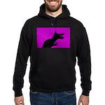 Dinosaur Silhouette Sweatshirt Hoody Hoodie (dark)
