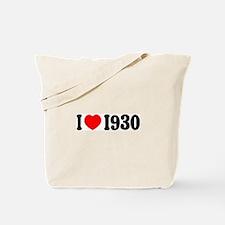 1930 Tote Bag