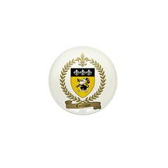 CAILLOUET Family Crest Mini Button