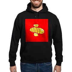 Cute Bee Hoodie Sweatshirt (dark)